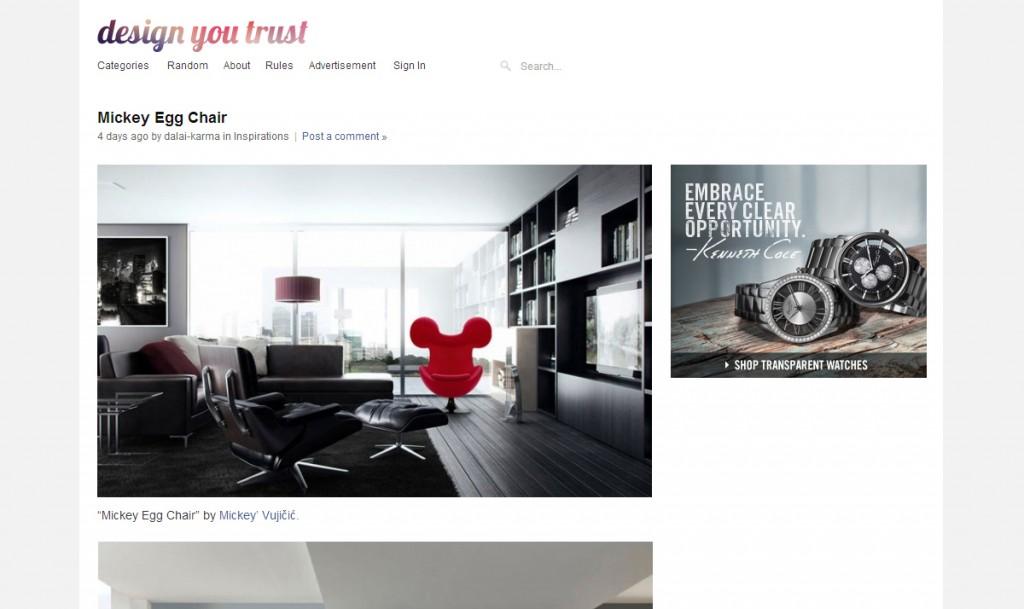 DesignYouTrust - Mickey Chair