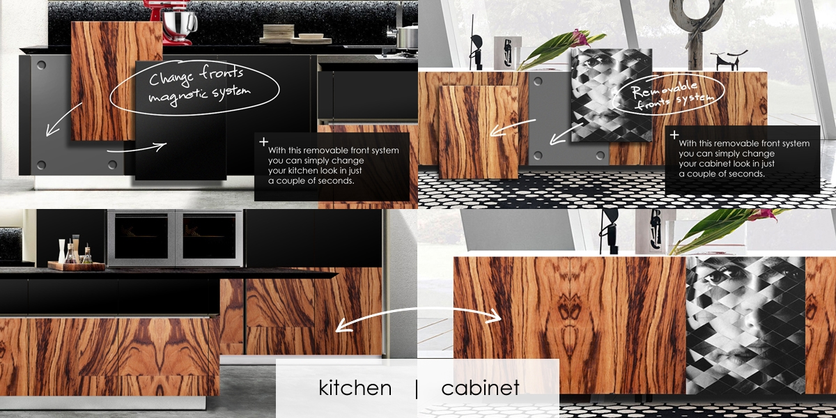 kitchen to cabinet D